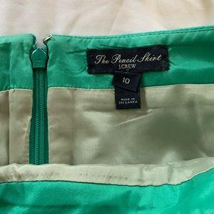 J. Crew Skirts - JCrew Wool Green Pencil Skirt